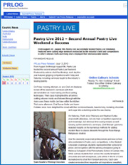 Pastry Live 2012 – 2nd Annual Pastry Live Weekend a Success