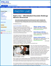 2012 Student Chocolate Challenge Winners