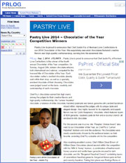 Pastry Live 2014 – Chocolatier of the Year Competition Winners