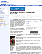Pastry Live 2014 – Pastry Atlanta Winners Announced