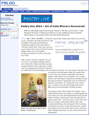Pastry Live 2014 – Art of Cake Winners Announced