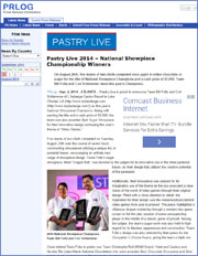 Pastry Live 2014 – National Showpiece Championship Winners