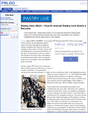 Pastry Live 2014 – Fourth Annual Pastry Live Event a Success