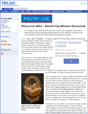 Pastry Live 2014 – Dessert Cup Winners Announced