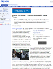 Pastry Live 2014 – Year Four Begins with a New Venue