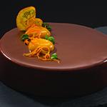 Chocolate Orange Vanilla Entremet